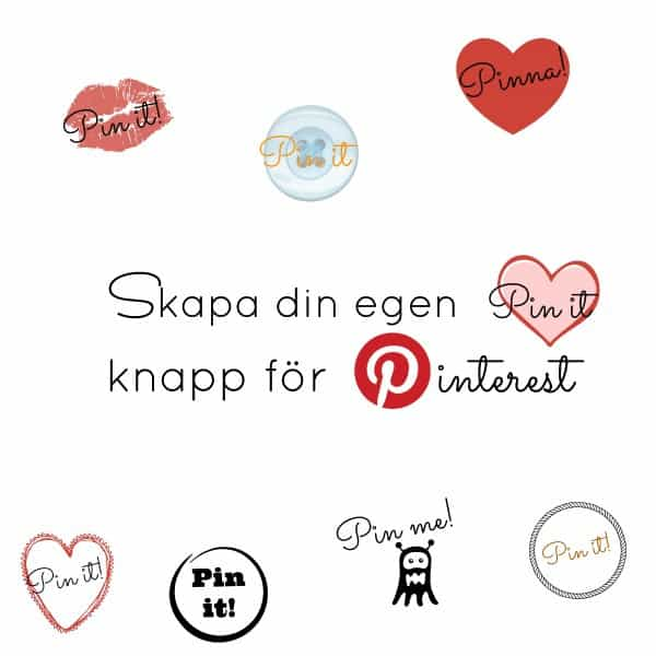Pinterest knapp exempel pin-it knapp
