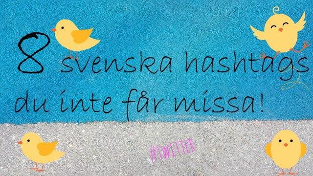 svenska hashtags