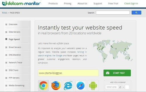 dotcom monitor website