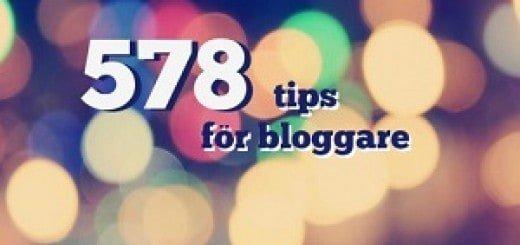 små tips för bloggare