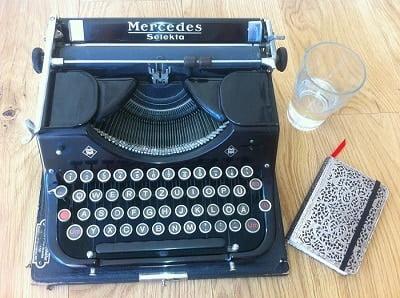 att blogga skriva om