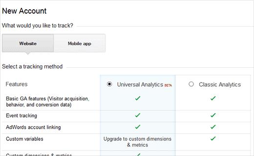 installera google analytics wordpress
