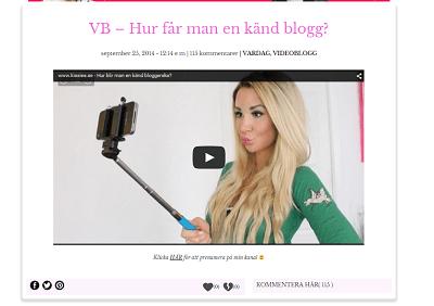 kissie blogg besökare