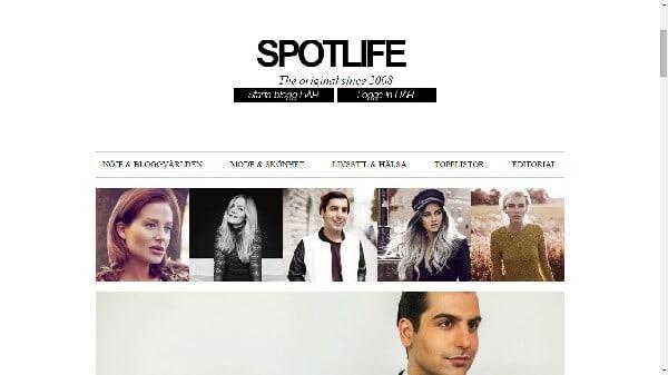 skapa blogg spotlife