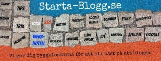 starta blogg