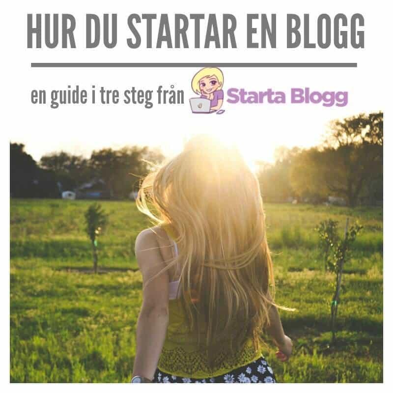 hur gör man en blogg