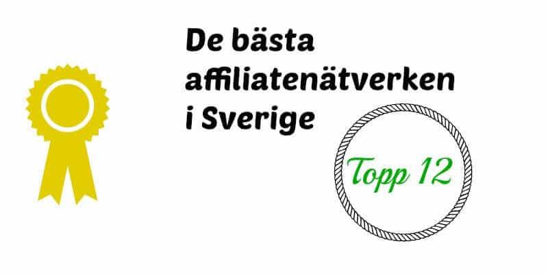 svenska affiliatenätverk