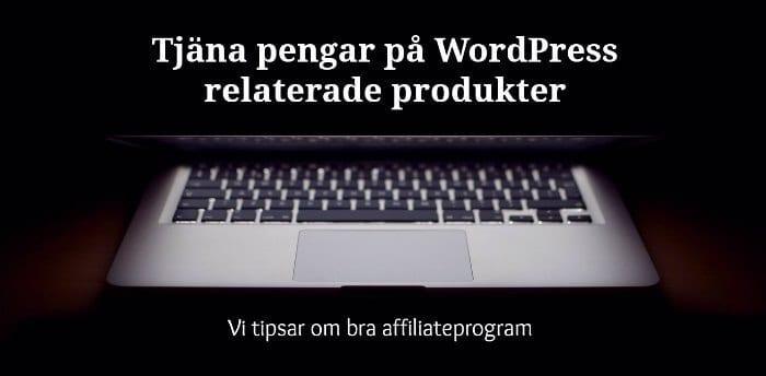 wordpress affiliateprogram